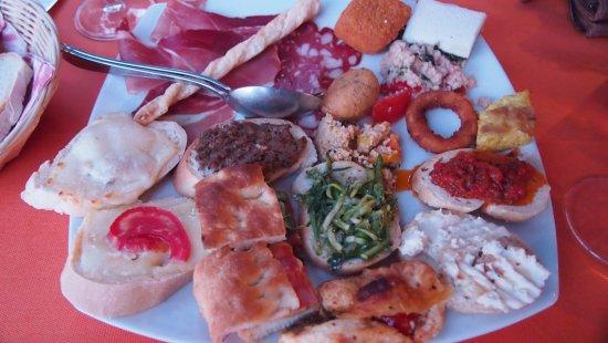 Sarteano, Italia: heerlijk!