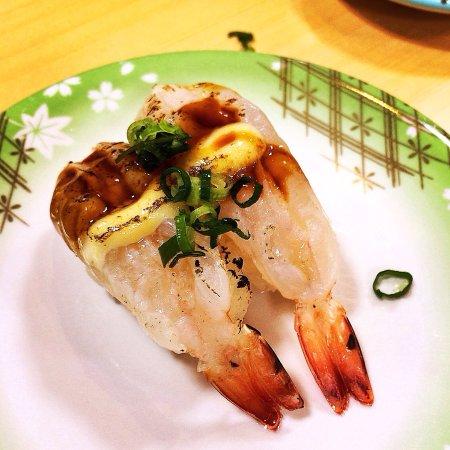 Amami, Japan: Kaiten Sushi Manten