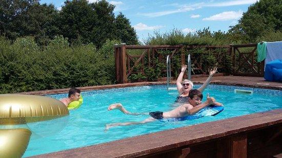 Pouzauges, Francia: Pool