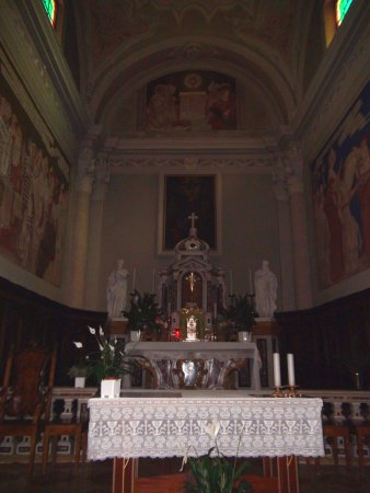 Lenzumo, Italie : Chiesa di San Silvestro...