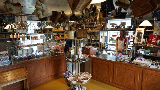 Lule, Sverige: Handelsbod