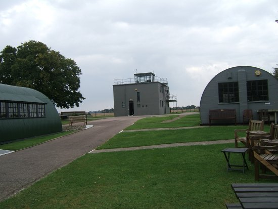 Diss, UK: The Control Tower and Varian and Sad Sack