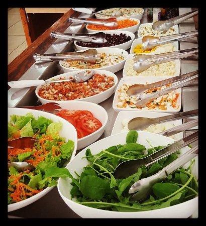 Sao Caetano do Sul: Buffet de saladas