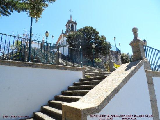 Santuário de Nossa Senhora da Assunção em Vila Flor,Portugal Foto: Cida Werneck