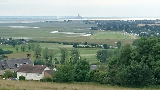 Avranches, France : view to Mont Saint-Michel