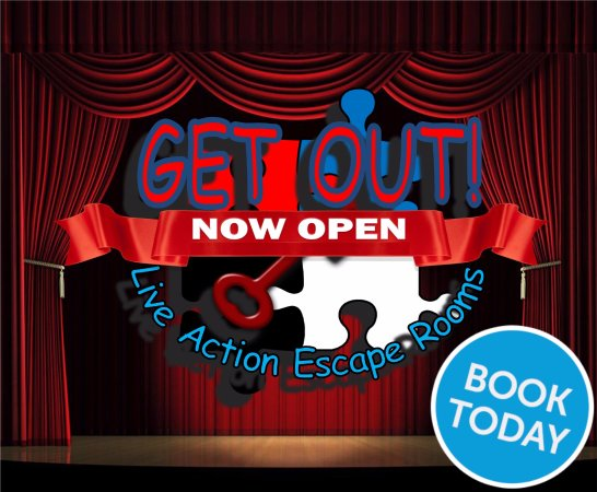 GET OUT Live Action Escape Rooms
