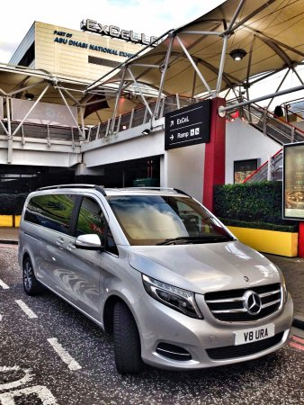 Newark-on-Trent, UK: Aura Journeys: Mercedes V Class at London ExCel Centre