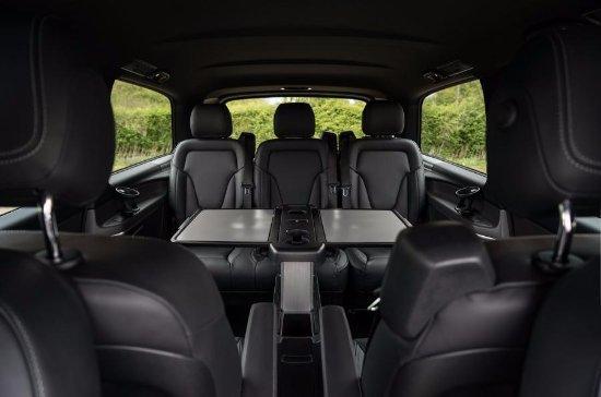 Aura Journeys: Mercedes V Class (Mini Van) Interior Seating ...