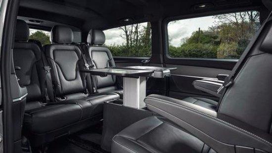 Nottinghamshire, UK: Aura Journeys: Mercedes V Class (Mini Van) Rear Seating