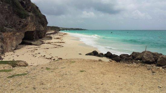 Union Hall, Barbados: Ginger Beach a sinistra di Crane Beach