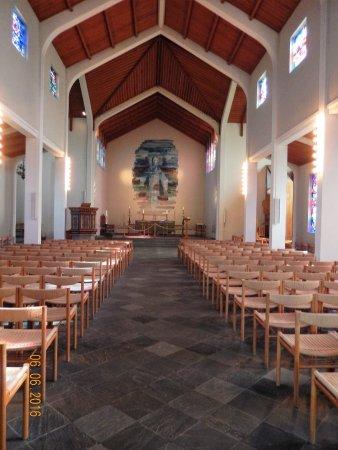 Fludir, Island: inside Skaholt Cathedral
