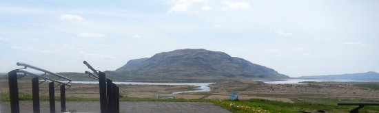 Fludir, Islandia: View from Skaholt Cathedral