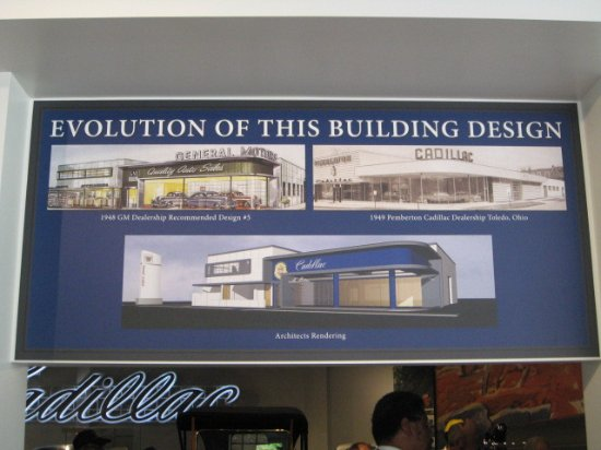 Hickory Corners, MI: Cadillac Showroom design evolution