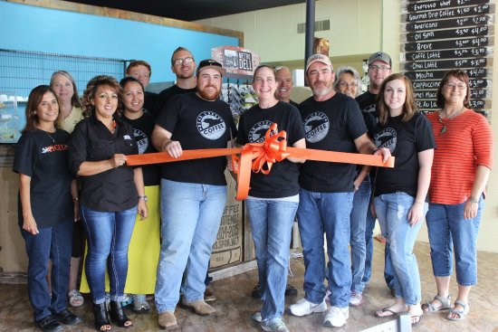 Ulysses, KS: This is our Bear Creek Brew Crew at our Grand Opening & Ribbon Cutting.