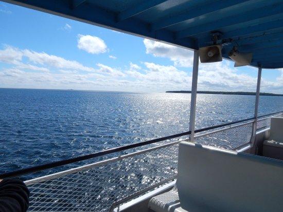 Washington Island Ferry Line: nice September day