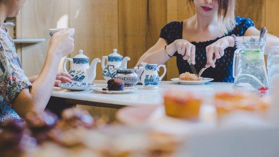 proper afternoon tea at Cocomaya
