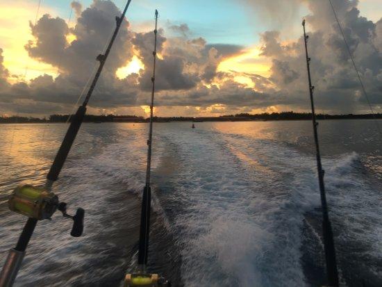 Bimini Big Game Club Resort & Marina: Sunrise over the channel
