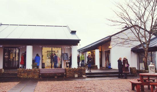 Donegal, Irlandia: The Craft Village at Christmas