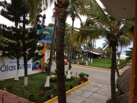 Hotel Surf Olas Altas : Lo fantástico para mí fue que en mi edificio hay un balcón desde donde aprecias el mar.
