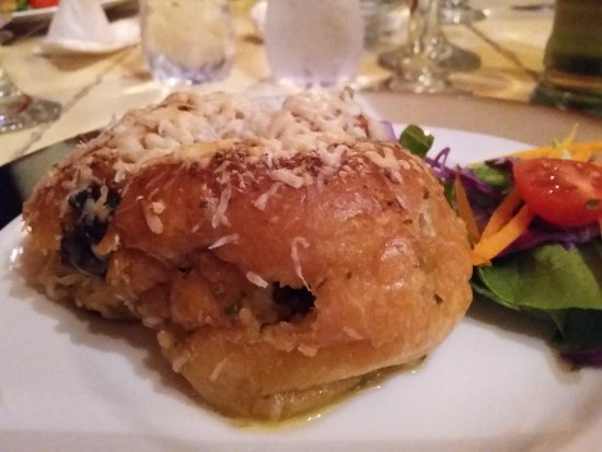 Bello Cibo Restaurant: Snails in a Garlic Brioche! Wow!