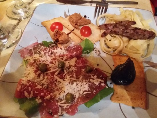 Bello Cibo Restaurant: Ostrich Trio - Out of this World!