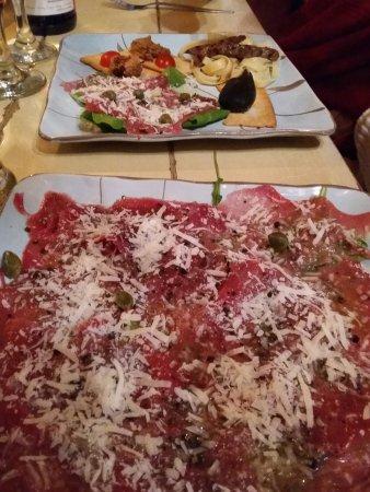 Bello Cibo Restaurant: Ostrich Carpaccio The Best Ever!