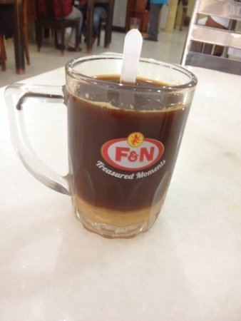 Restoran Muthu: This is NOT how bru coffee should be served!!!