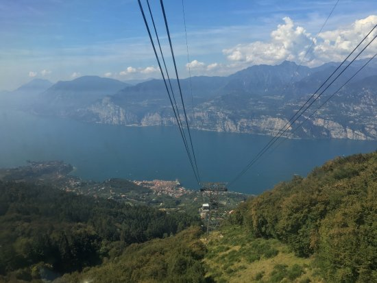 View Of Lake Garda From The Second Rotating Cable Car Picture Of