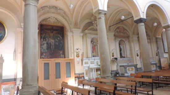 Francavilla di Sicilia, Włochy: Chiesa SS. Annunziata (interno)