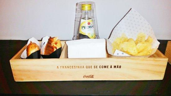 sandinha menu
