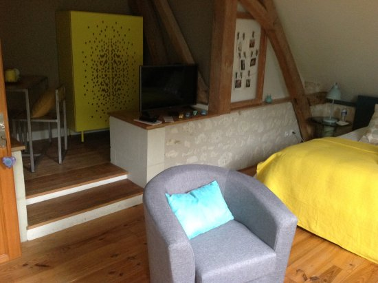 Sainte-Maure-de-Touraine, France: Room 'Vintage'