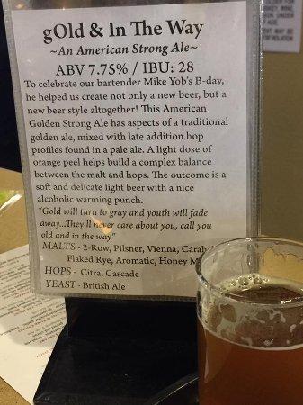 Fort Collins, CO: Beer description