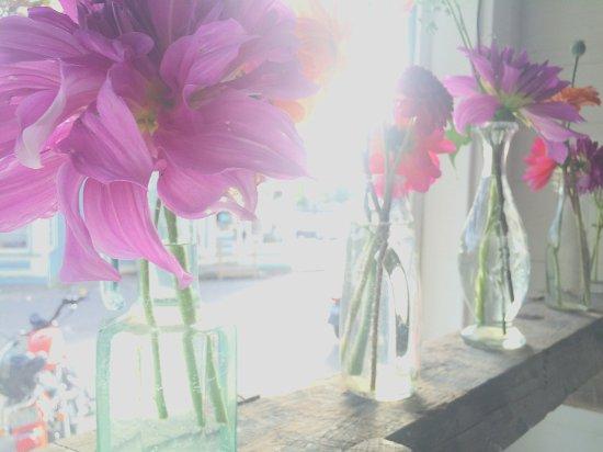 Deer Isle, ME: Street Floral Arrangement