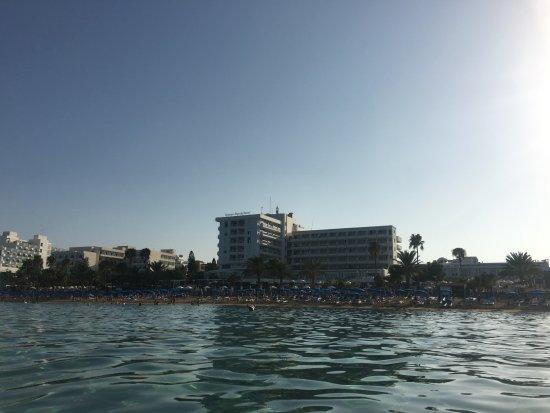 Sunrise Beach Hotel from the sea