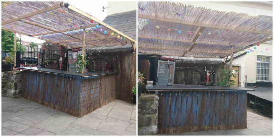 Merthyr Tydfil, UK: Beer Garden Bar