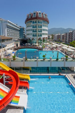 Asia Beach Resort And Spa Hotel Alanya