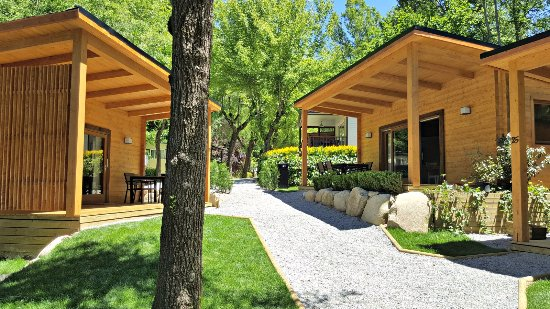 Sant Pau de Seguries, Spain: Nueva Zona Bungalows Family Premium
