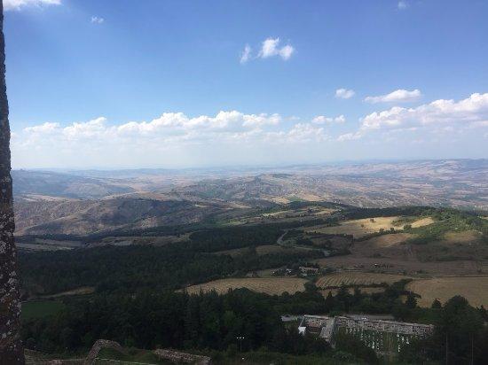 Radicofani, Italia: vista dalla torre