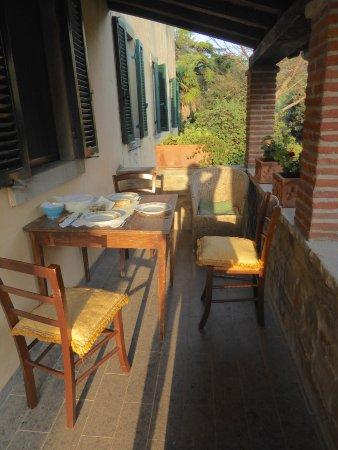 Agriturismo La Pievuccia : Dinner Time