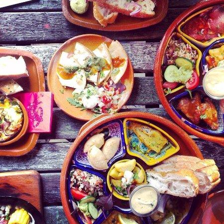 Deventer, Nederland: mexicaanse tapas