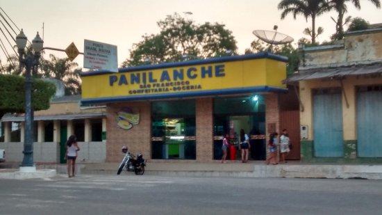 Brasiléia, AC: Fachada da Lanchonete.