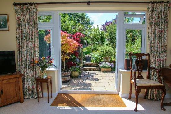 London Road Garden Annex : View from Garden Annex living room