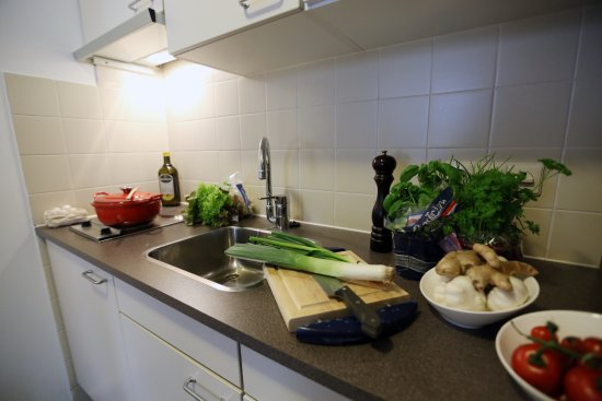 Oirschot, Países Bajos: kitchenette
