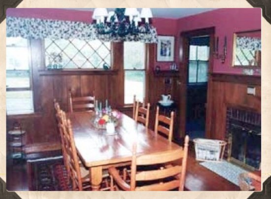 Cranberry Gardens Inn: Dining room