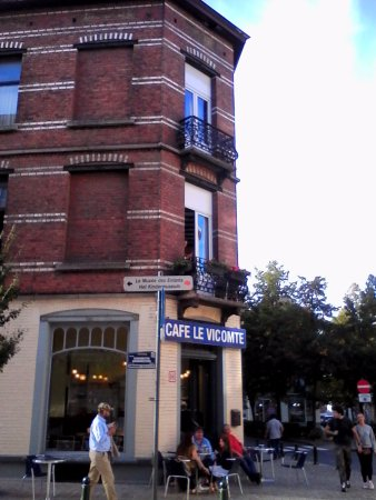 Ixelles, بلجيكا: Terrasse agréable