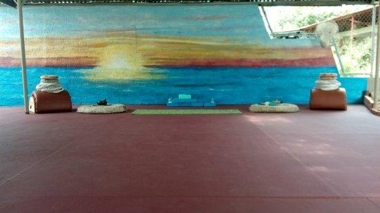 Playa Coronado, Panama : Yoga studio