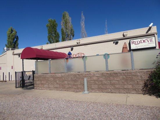 Pinetop-Lakeside, AZ: Red Devil Pizza restaurant