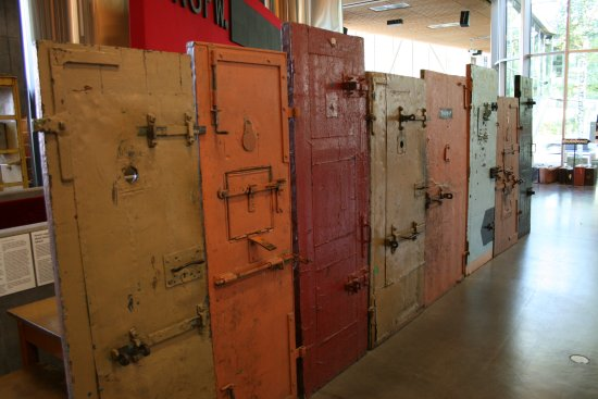 Prison doors - Picture of Vabamu Museum of Occupations and Freedom ... dde21d320d