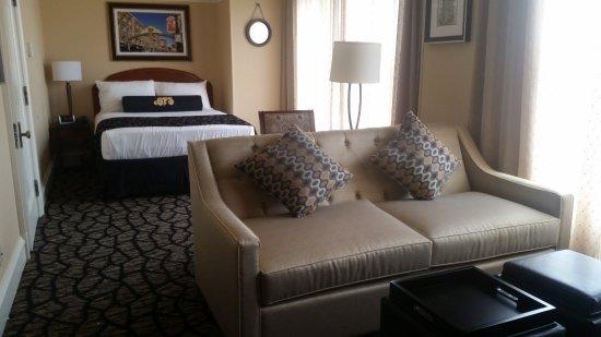 Gaslamp Plaza Suites : Mini suite