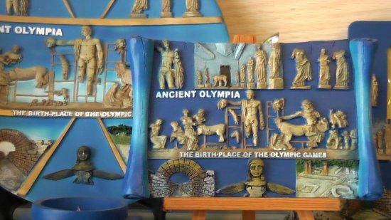 Ancient Olympia: Древняя Олимпия, июнь 2013 года...